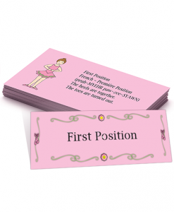 learn ballet flash cards