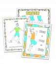 Coloring Sheets Tap Dance